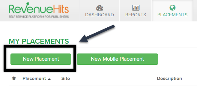 click-new-placement