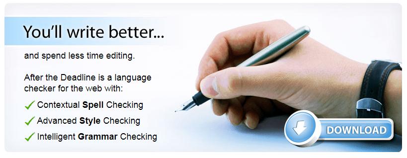 After the Deadline Grammar Checker