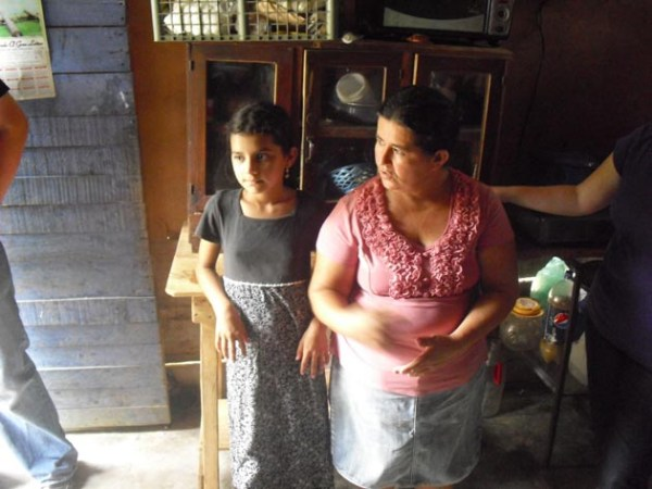 Our visit to Fanny's home