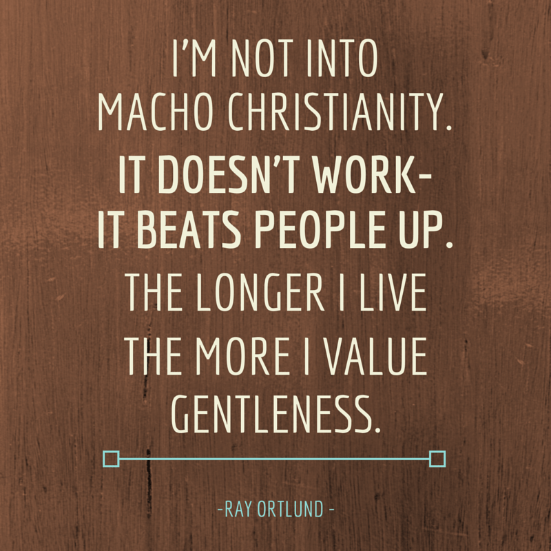 macho christianity