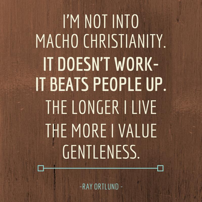 macho christianity