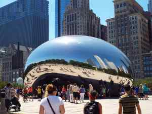 The Chicago Cloud Gate