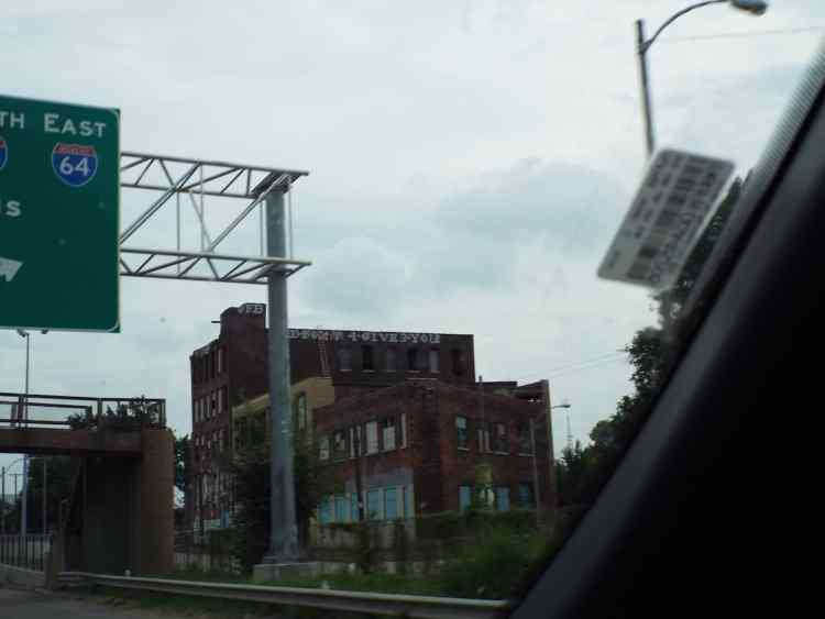Think we may of taken a wrong turn into East St Louis