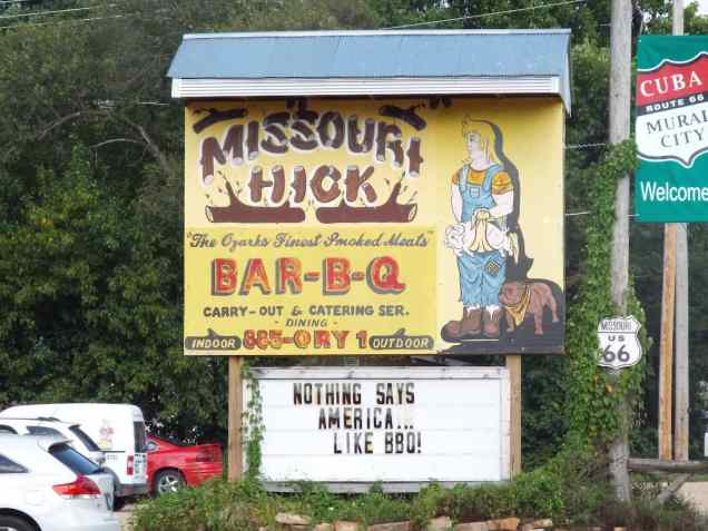 Missouri Hick restaurant in cuba