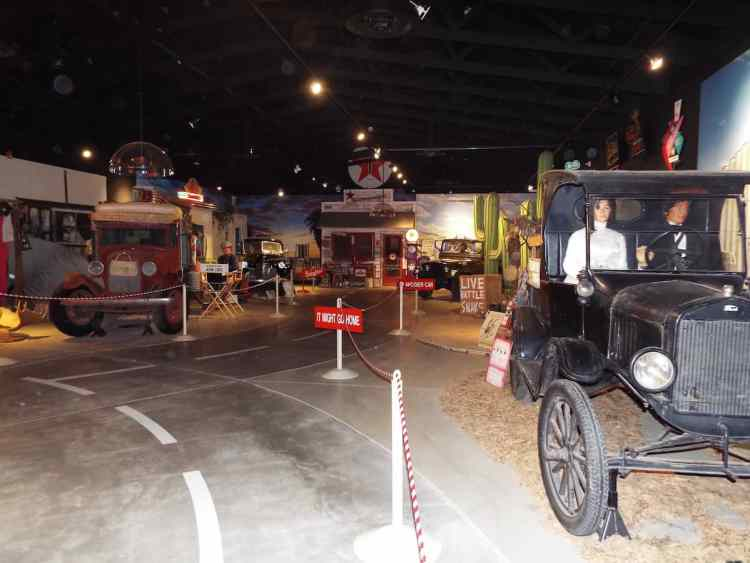 Route 66 Museum in Oklahoma