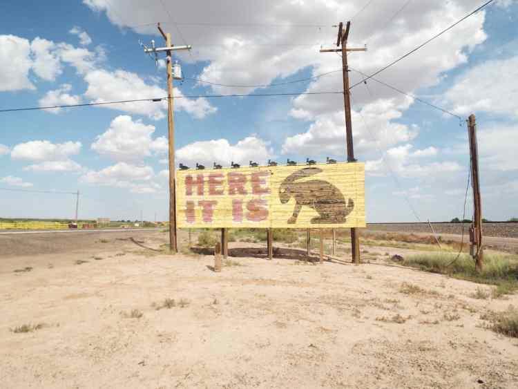 HERE IT IS Jack rabbit trading post near Joseph city Arizona on old Route 66