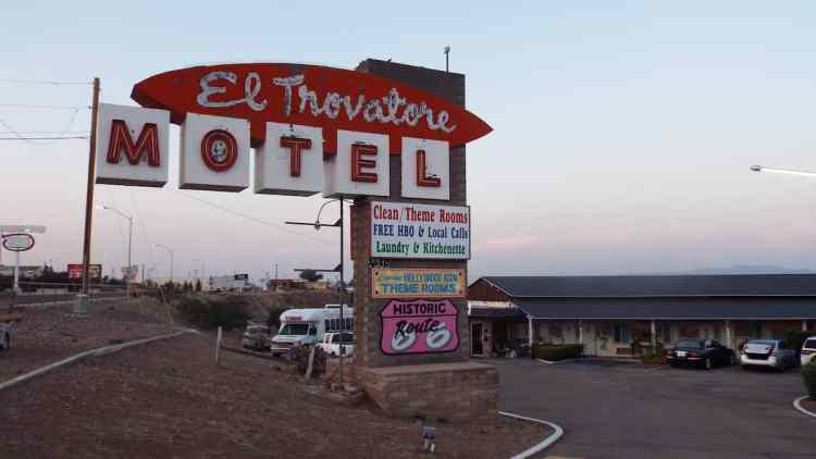 El Trovatore Motel in Kingman Arizona