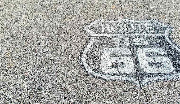 Route 66 Shield in Missouri