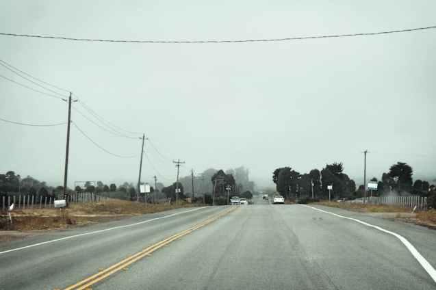 The road out of San Luis Obispo