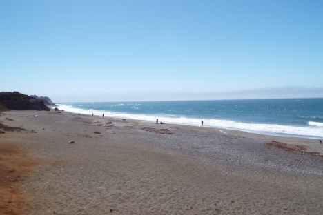 Beach on Highway One