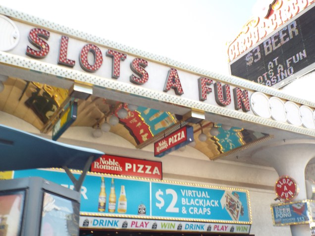 Slots a fun sign