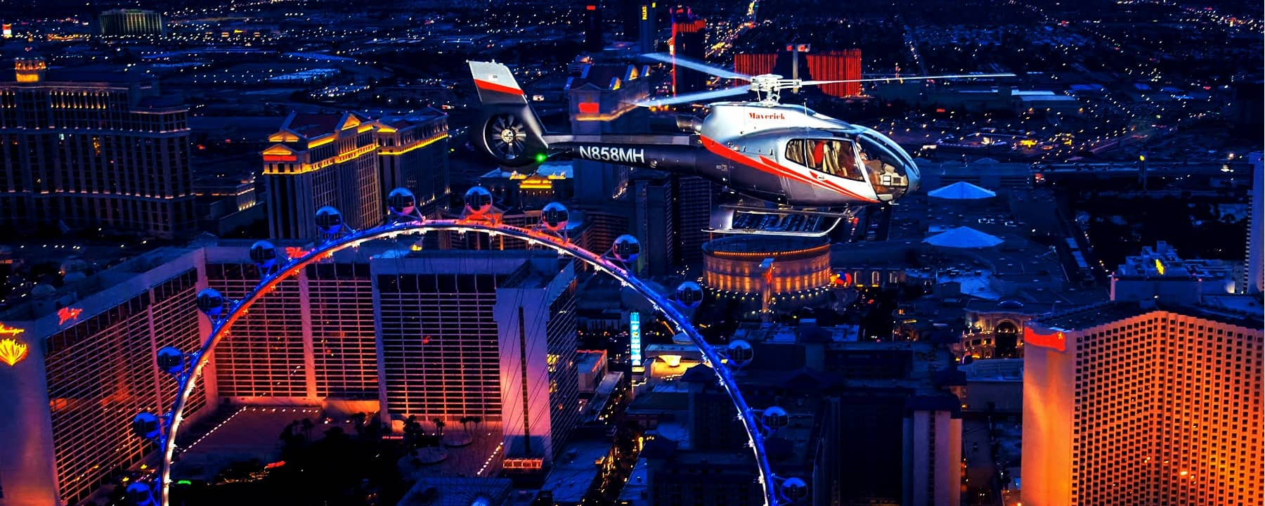 Las Vegas Sightseeing by Land and Air