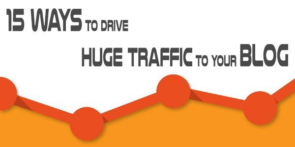 Drive Traffic to Blog