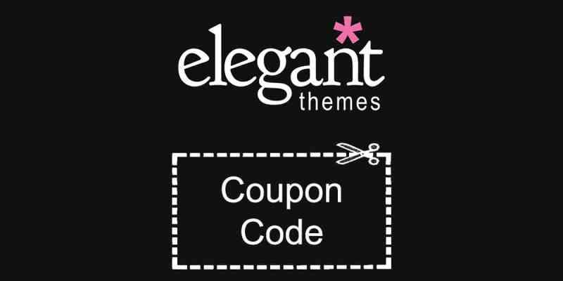 Elegant Themes Coupon Code 20% Discount
