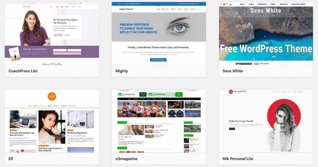 Free Themes WordPress