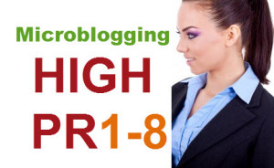 Top 20 High PR Microblogging Sites List of 2016