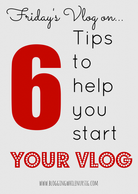 6 Tips for Vlog