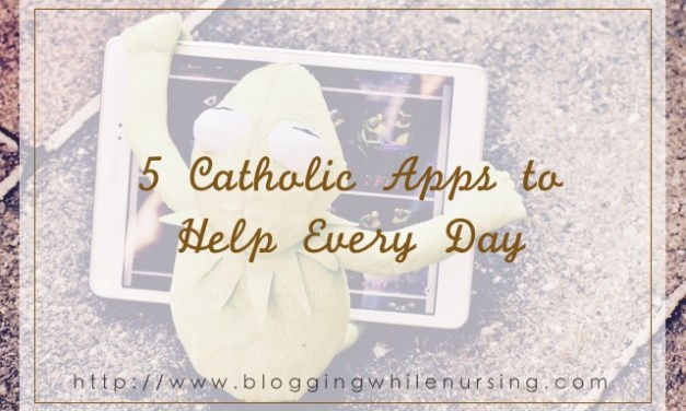 5 Catholic Apps to Help Every Day