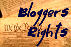 Bloggers Rights graphic by Lorelle VanFossen
