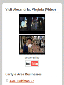 Example of appropriate use of videos in a blog\'s sidebar, reflecting the blog\'s purpose.