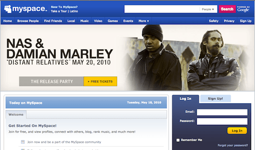 Myspace. The New Facebook Alternative? Site Implements Privacy Changes