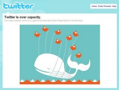 Twitter Whale - Over Capacity Whale