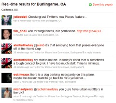 Twitter Places - Screenshot 3