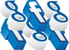 Facebook - Google Me Logo