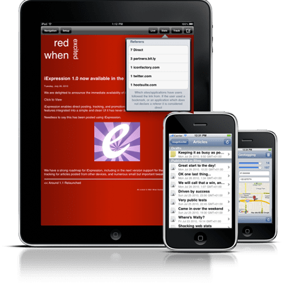 ExpressionEngine Bloggers Take Note: Your iPhone (And iPad) App Has Arrived!