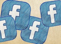 Facebook Drawn Logo