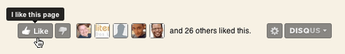 """Disqus Helps Bloggers Embrace The """"Like"""" Revolution"""
