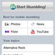 StumbleUpon iPhone App - Small Screenshot