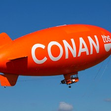 Conan O'Brien Blimp