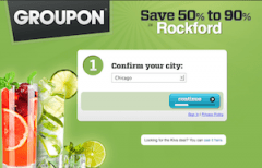 Groupon Screen Capture