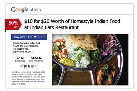 'Google Offers' Launching As Groupon Competitor