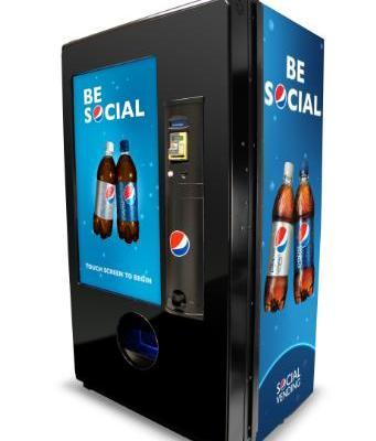 Pepsi Social Vending Machine