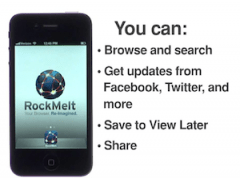 RockMelt iPhone Browser