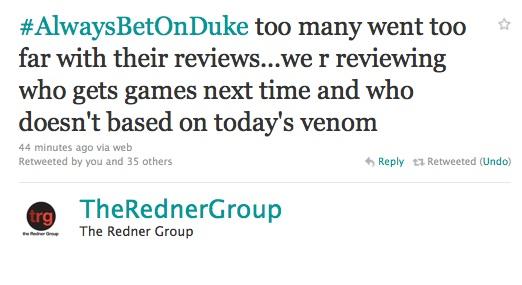 Redner Group Duke Nukem Review Blacklist