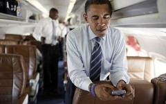 President Obama Blackberry
