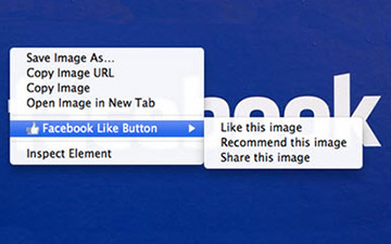 """Facebook Releases Official """"Like Button"""" Chrome Extension"""