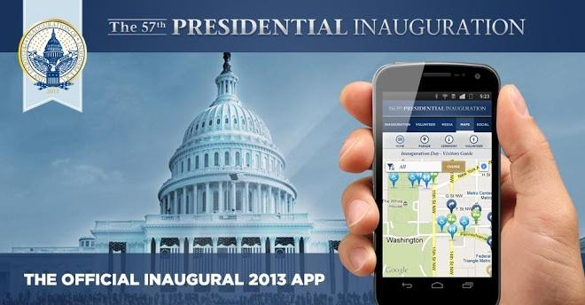President Obama's Inauguration Will Feature Its Own Mobile App