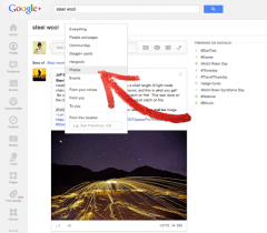Google Plus Photo Search