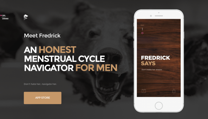 Peculiar New Fredrick App Tracks Your Lady's Cycle