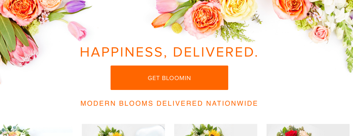 A Better Florist website