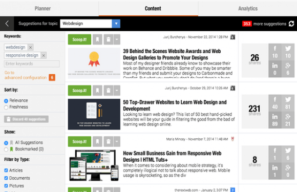 content ideation tools