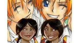 Batalla: Los gemelos Weasley contra las gemelas Patil