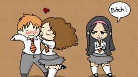 Batalla: Lavander Brown contra Hermione Granger