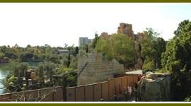 Nuevas fotografías de la construcción del Parque Temático de Harry Potter