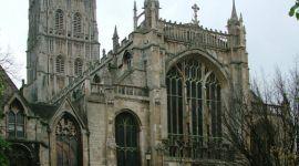 Comienzan a filmar escenas de El Príncipe Mestizo en la Catedral de Gloucester