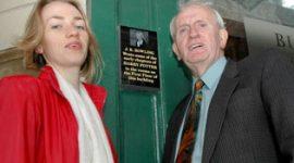 Roban Placa Dedicada a J.K. Rowling en Edimburgo